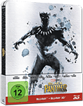 Black Panther - Steelbook Edition Blu-ray 3D (2 Discs)