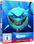 Findet Nemo - Steelbook Edition Blu-ray 3D (2 Discs)