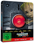 Guardians of the Galaxy Vol. 2 - Steelbook Edition Blu-ray 3D (2 Discs) (Blu-ray 3D Filme)