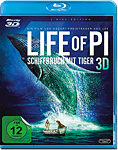 Life of Pi: Schiffbruch mit Tiger Blu-ray 3D (2 Discs)