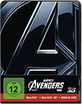 Marvel's The Avengers - Steelbook Edition Blu-ray 3D (3 Discs) (Blu-ray 3D Filme)