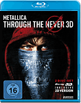 Metallica: Through the Never Blu-ray 3D (2 Discs)