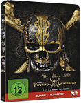 Pirates of the Caribbean 5: Salazars Rache - Steelbook Edition Blu-ray 3D (2 Discs) (Blu-ray 3D Filme)