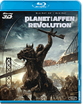 Planet der Affen: Revolution Blu-ray 3D