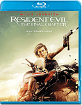 Resident Evil 6: The Final Chapter Blu-ray 3D