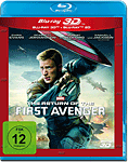 The Return of the First Avenger Blu-ray 3D (2 Discs)