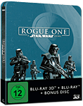 Rogue One: A Star Wars Story - Steelbook Edition Blu-ray 3D (3 Discs)