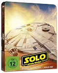 Solo: A Star Wars Story - Steelbook Edition Blu-ray 3D (3 Discs) (Blu-ray 3D Filme)