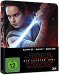 Star Wars Episode 8: Die letzten Jedi - Steelbook Edition Blu-ray 3D (3 Discs)