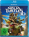 Teenage Mutant Ninja Turtles Blu-ray 3D