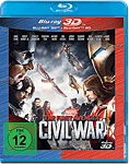 The First Avenger: Civil War Blu-ray 3D (2 Discs)