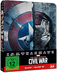 The First Avenger: Civil War - Steelbook Edition Blu-ray 3D (2 Discs) (Blu-ray 3D Filme)