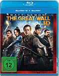 The Great Wall Blu-ray 3D (2 Discs) (Blu-ray 3D Filme)