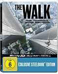 The Walk - Lenticular Steelbook Edition Blu-ray 3D (2 Discs)