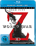 World War Z - Extended Cut Blu-ray 3D (3 Discs)
