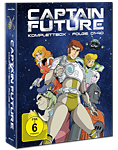 Captain Future - Komplettbox Blu-ray (4 Discs)