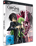 Code Geass: Lelouch of the Rebellion R2 - Mediabook Gesamtausgabe Blu-ray (2 Discs) (Anime Blu-ray)
