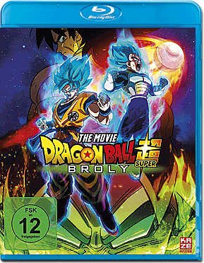 Dragonball Super: Broly Blu-ray