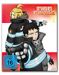 Fire Force Vol. 1 Blu-ray