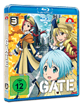 Gate Vol. 3 Blu-ray (Anime Blu-ray)