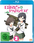 Girls & Panzer Vol. 2 Blu-ray