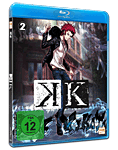 K Vol. 2 Blu-ray (Anime Blu-ray)