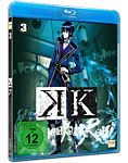 K Vol. 3 Blu-ray (Anime Blu-ray)