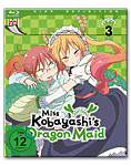 Miss Kobayashi's Dragon Maid Vol. 3 Blu-ray