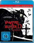 Vampire Hunter D: Bloodlust Blu-ray