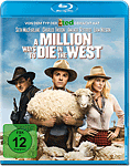A Million Ways to Die in the West Blu-ray (Blu-ray Filme)