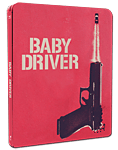 Baby Driver - Steelbook Edition Blu-ray (2 Discs)