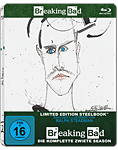 Breaking Bad: Season 2 Box - Steelbook Edition Blu-ray (3 Discs) (Blu-ray Filme)