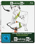Breaking Bad: Season 3 Box - Steelbook Edition Blu-ray (3 Discs) (Blu-ray Filme)