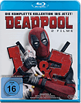 Deadpool 1+2 Blu-ray (3 Discs)