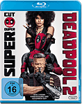 Deadpool 2 - Super Duper Cut Blu-ray (2 Discs) (Blu-ray Filme)