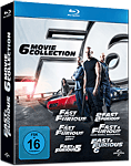 Fast & Furious - 6 Movie Collection Blu-ray (6 Discs)