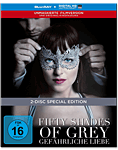 Fifty Shades of Grey 2: Gefährliche Liebe - Limited Digibook Edition Blu-ray (2 Discs)