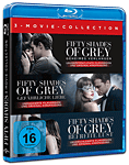 Fifty Shades of Grey - 3 Movie Collection Blu-ray (3 Discs)
