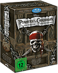 Pirates of the Caribbean - Die Piraten-Quadrologie Blu-ray (5 Discs) (Blu-ray Filme)