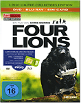 Four Lions - Collector's Edition Blu-ray (3 Discs)