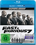 Fast & Furious 7 - Extended Version Blu-ray