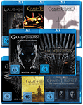 Game of Thrones: Staffel 1-8 Set Blu-ray (33 Discs)