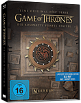 Game of Thrones: Staffel 5 Box - Steelbook Edition Blu-ray (4 Discs)