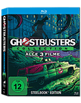 Ghostbusters - Steelbook Collection Blu-ray (3 Discs)