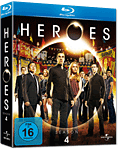 Heroes: Season 4 Box Blu-ray (4 Discs)