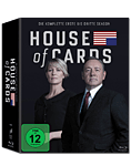 House of Cards: Staffel 1-3 Box Blu-ray (12 Discs) (Blu-ray Filme)