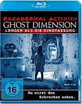 Paranormal Activity: The Ghost Dimension - Extended Cut Blu-ray