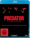 Predator - 1-4 Collection Blu-ray (4 Discs)