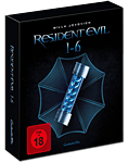 Resident Evil 1-6 - Complete Collection Blu-ray (6 Discs)