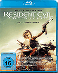 Resident Evil 6: The Final Chapter Blu-ray